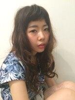 マハナ(Mahana by hair)*熱インカラミパーマ*