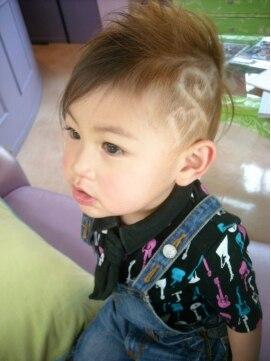 ソフトモヒカンの切り方|男の子/メンズ/赤ちゃん/前髪