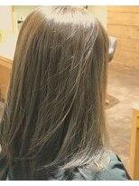 サロンズヘアー 中納言店(SALONS HAIR)やわらかなブラウンベージュ