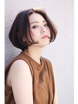 イロドリ ヘアーデザイン(IRODORI hair design)IRODORI 大人可愛いミニボブ2 [西尾一寛]