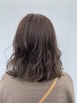 ヘアーサロン リアン 熊谷2号店(hair salon Rien)ミルクティーグレージュ