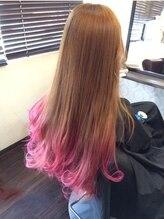 クレア ヘアーアザス 豊中店(CREA hair azass)チェリーピンク