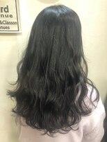ヘアーアンドメイク ポッシュ 新宿店(HAIR&MAKE POSH)透け感暗髪カラー