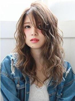 ヒップスデコ(Hip's deco)の写真/≪髪質改善カラーエステ≫N.エヌドットカラーは女子心をくすぐる♪外国人風の柔らかな色味と透明感が可愛い
