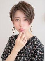小顔×大人ショート