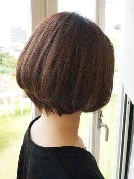 ヘアーメイクメアリーアン(Hair make Mary ann)の写真/一人一人の骨格やクセに合わせたstyle提案と技術力の高さ★貴女だけの似合わせショートをご提案♪