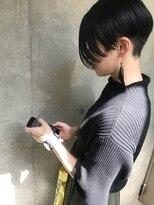 bibito 個性的な美髪エッジショート アシメボブ tokikata