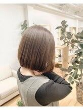 キキ ヘアスタジオ(kiki hair studio)サラツヤボブ