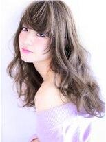 【大人可愛いイルミナラベンダーグレージュ】Hayato Ooshiro