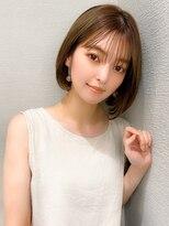 髪質改善/ホワイトアッシュ/エアリーミディ/くびれヘア/艶髪