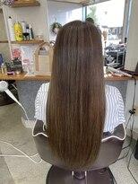 ヘアーステージブルーム(HAIR STAGE BLOOM)グレージュカラースタイル