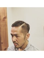 ワンドロップ(One Drop)*注目のスキンフェード風Barber Style♪*