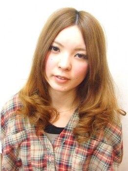 ヘアデザイン アーチ(hair design arch)の写真/【グロスカラーorコスメカール+カット¥6600☆】こまめに通いやすいナチュラルな雰囲気のサロンです☆