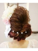 クローチェ (Croce Hair Design)ゆるふわヘアアレンジ☆