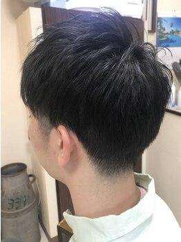ヘアー フォーシーズンズ(Hair Four Seasons)の写真/【老舗BARBER/20時迄営業/カット+シェービング¥3600】ツーブロックなどのショートStyleこそプロの技で☆