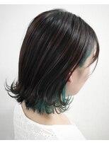 ソース ヘア アトリエ 京橋(Source hair atelier)【SOURCE】インナーグリーン