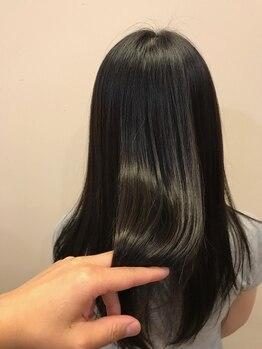 ソーエン バイ ヘッドライト 釧路若松店(soen by HEADLIGHT)の写真/【カット+トリートメント¥4200】可愛いStyleはヘアケアが重要!豊富なトリートメントMENUでうるツヤ髪に♪