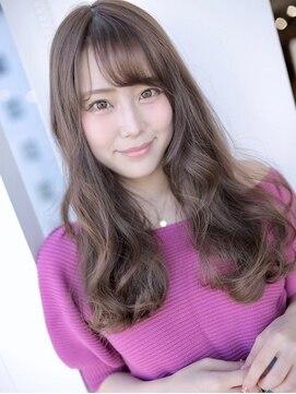 アグ ヘアー シルエ 和泉府中店(Agu hair silje)最旬かわいい潤艶ウェーブロング