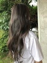 ヘア プロデュース キュオン(hair produce CUEON.)ロング × オーシャングレージュ