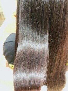 リマイル(remile)の写真/【TOKIOトリートメント 認定サロン】人気の極上トリートメントで思わず触りたくなるうるツヤ髪に♪