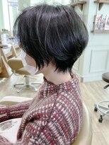 モリオフロムロンドンココサ 下通店(morio)【morio下通】大人かわいい透け感ショートボブ