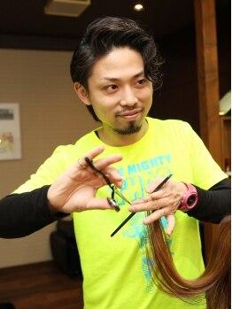 ヘアーアンドメイク コクア(hair&make kokua)の写真/実力派スタイリストが、あなたのなりたいを叶えてくれる♪幅広い年齢層に愛されるのも、高い技術あってこそ