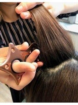 シュプール ダブル ラウンジ(SPUR W-Lounge)の写真/髪も切らず、薬剤未使用でクセや毛流,毛質改善!世界初の形状変化技術【エンジェリックケア】で新体験を!
