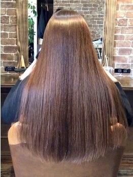 エイル(eir)の写真/【ひたちなか市eirで自分史上最高の美髪矯正を】感動の仕上がりに♪