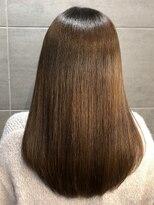 ナナナパレナ 梅田店(nanana parena)360度美人*髪質改善専門サロンの縮毛矯正で圧巻艶髪ストレート
