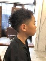 リー 代官山(Яe)【キッズカット/高橋知裕】刈り上げ ショートヘア
