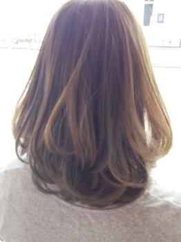 バオバブ ヘアー(baobab hair)の写真/お客様ひとりひとりに合わせたカット技術に自信あり!毎朝のスタイリングが簡単&決まりやすい☆