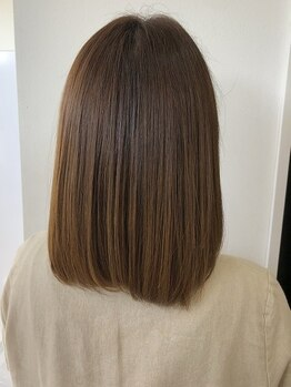 ソラ ヘアーメイク(SORA HAIR MAKE)の写真/《Aujua》《髪質改善トリートメント》をご用意♪髪の広がりやダメージにお悩みの方も、憧れのうる艶髪に*