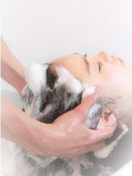 ヘアーメイク シャンプー(hair make shampoo)の写真/簡単スパからしっかりスパまで、髪の状態に合わせて選べるのが◎頭皮と髪をケアして健康的な美髪に…♪