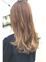 ヘアーサロン エール 原宿(hair salon ailes)(ailes原宿)style318 デザインカラー☆ピンキーミルク
