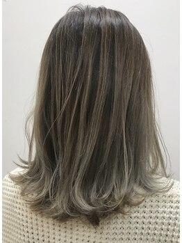ルシードスタイル バレッタ(LUCIDO STYLE BARRETTA)の写真/大胆イメチェンにも◎これからの季節に!ハイライト・ローライト・グラデーションで髪色を楽しもう♪