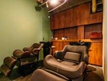 ブルックリン ヘア スタジオ(BROOKLYN HAIR STUDIO)の雰囲気(ゆったりくつろげるシャンプー台♪)