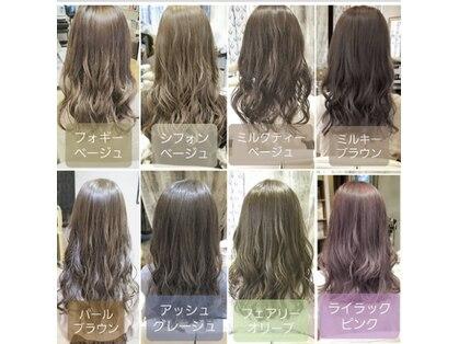 ヘアーアンドメイク カッシィ(hair&make cassie)の写真