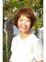 ココロ(HAIR CoCoro relaxation)わたがし☆ひし形☆ボブ