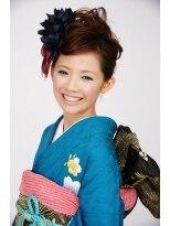 成人式のセットサロン 梅田 茶屋町Ricco成人式スタイル画像