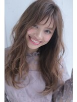 ジーナフクオカ(Zina FUKUOKA)Zina☆大人かわいいグレージュロング