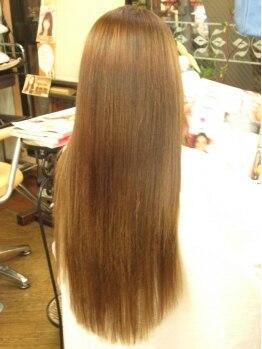 ヘアスタジオ アクティブ(Hair studio active)の写真/★☆高級人毛100%で作る自然な馴染ませエクステ☆★あなたの『なりたい』を叶えてくれるサロン【active】