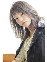 シェル(SHEL)【SHEL☆心】ゆる巻き透明感ミデイアム