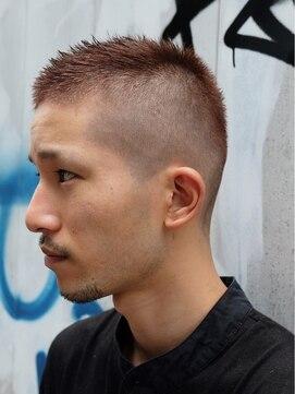 薄毛・ハゲにおすすめの髪型①スキンフェード