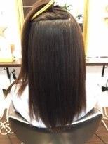 ブレスヘアーデザイン(BLESS HAIR DESIGN)ツヤツヤ☆美革ストレート