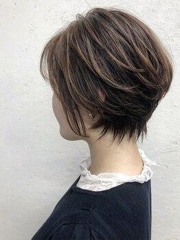 グランジュテ ヘアアンドスパ 新検見川(GRAND JETE Hair&Spa)の写真/[カット¥4730~]ハイレベルな技術力で再現性の高いstyleをご提供!周りと差がつくショートヘアならお任せ◎