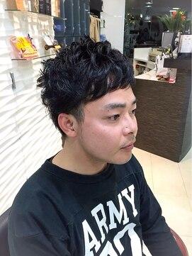 大賀 ヘアビューティ(Oga Hair beauty)ショートパーマ