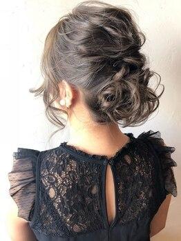 """サロン ド ヒロ アイリー(Salon de HIRO IRIE)の写真/【大人気!セット¥2700~】結婚式やイベントなど、大切な日は""""IRIE""""のヘアセットでとびきり可愛い私に…★"""