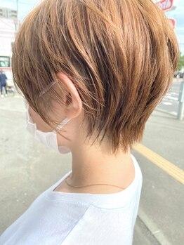 """リム(LIM asabu)の写真/""""毎日カワイイ""""をご自身で簡単に再現できる高い技術力。あなたらしい魅力を引き出すショートスタイルに◎"""