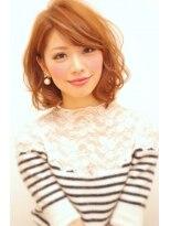 デジタルパーマの人気ヘアスタイル☆大人可愛いSWEETミディ画像