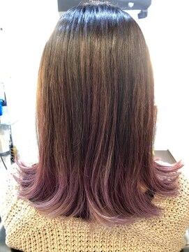 ファクトリー(FACTORY)美髪 ノンジアミンカラー バイオレット ウォーターフォール